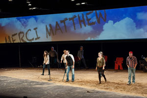the laramie project critique A death that revealed the world's concealed view on homosexuality the laramie project is a play written by moises kaufman and the members of tectonic theater.